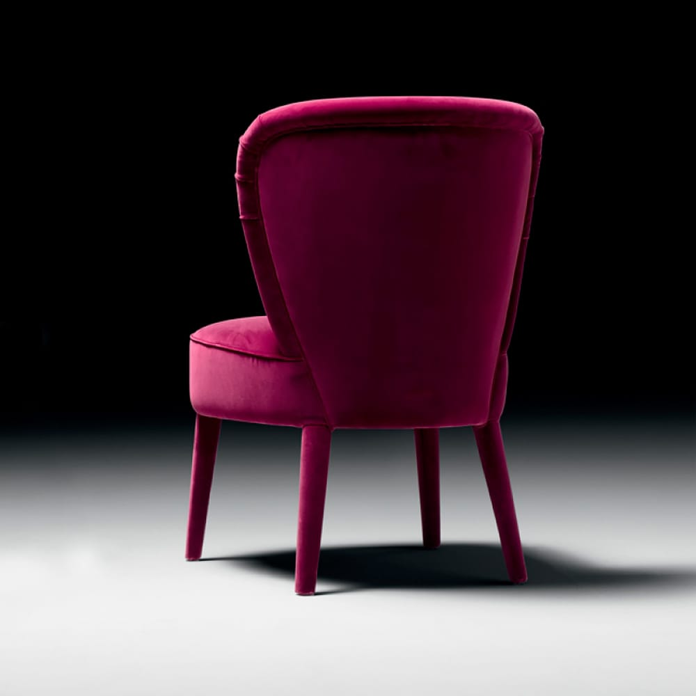 Contemporary Italian Dining Chair Hollywood Glamour