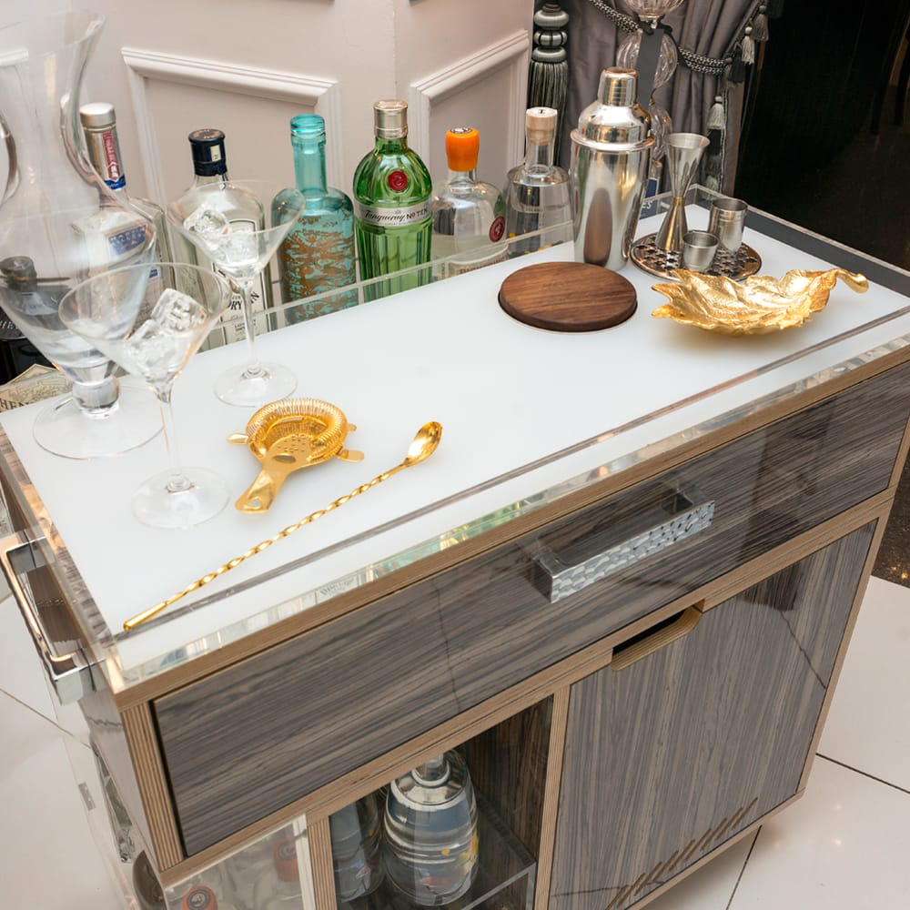 The Most Perfect Modern Gin Trolley