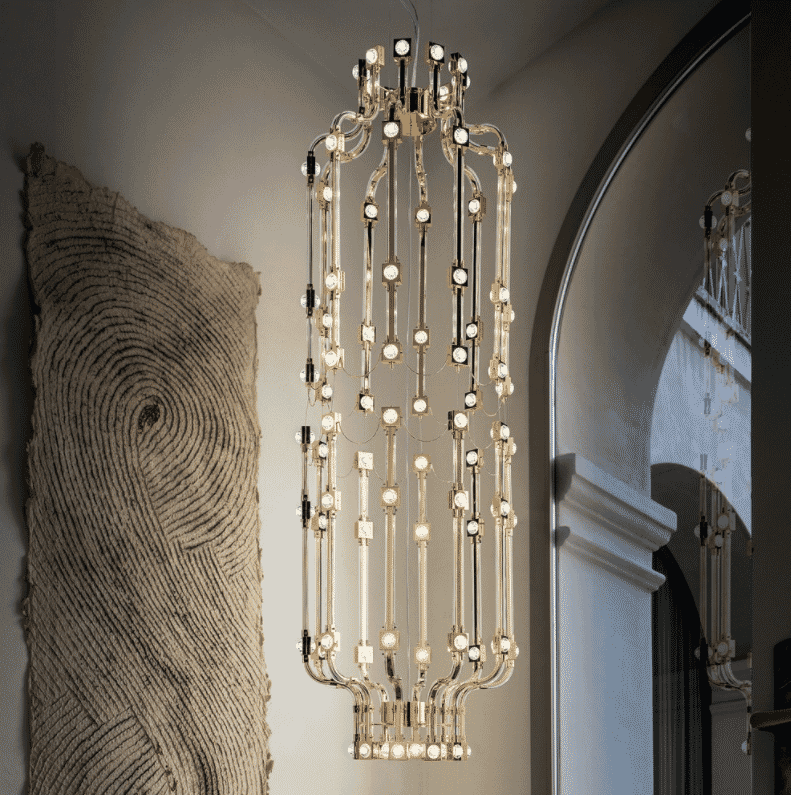 2018-Trends-large-gold-modular-chandelier
