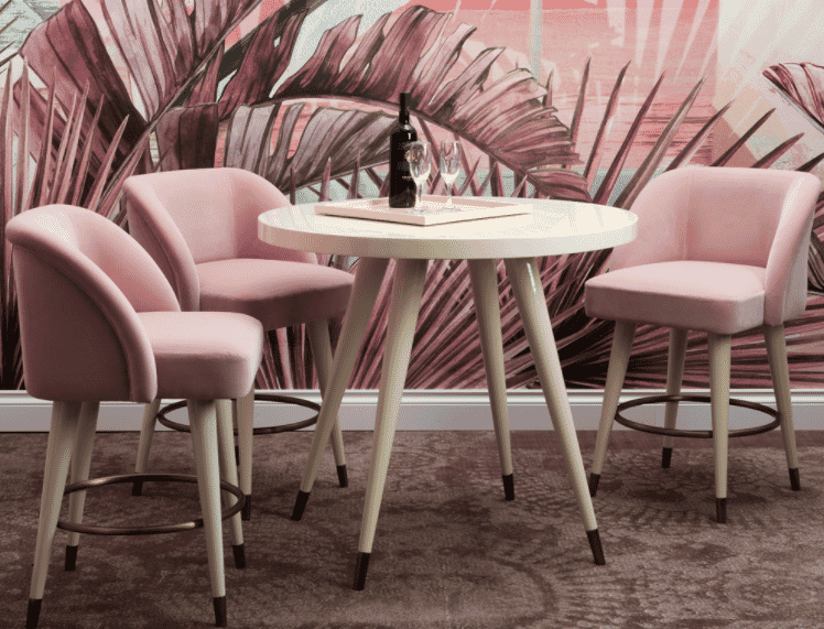 2018-Trends-millennial-pink-bar-chair-and-table