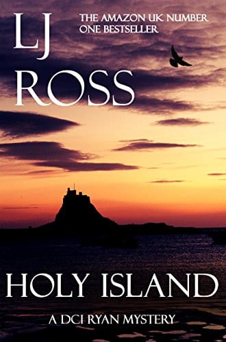 Holy Island by L J Ross, front cover, holiday reading
