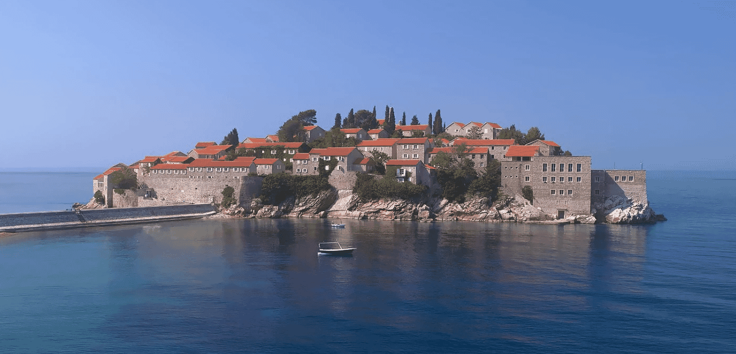 Sveti Stefan private island by Aman Hotel group
