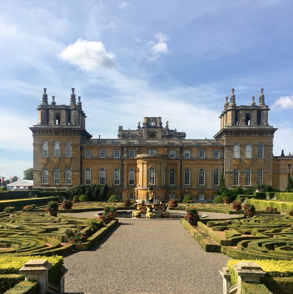 View of Blenheim Palace, Salon Privé 2018