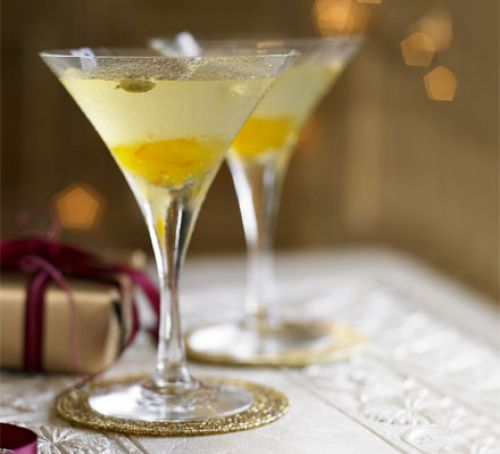 3 of the Best Christmas Cocktails bitter orange and cardamom martini