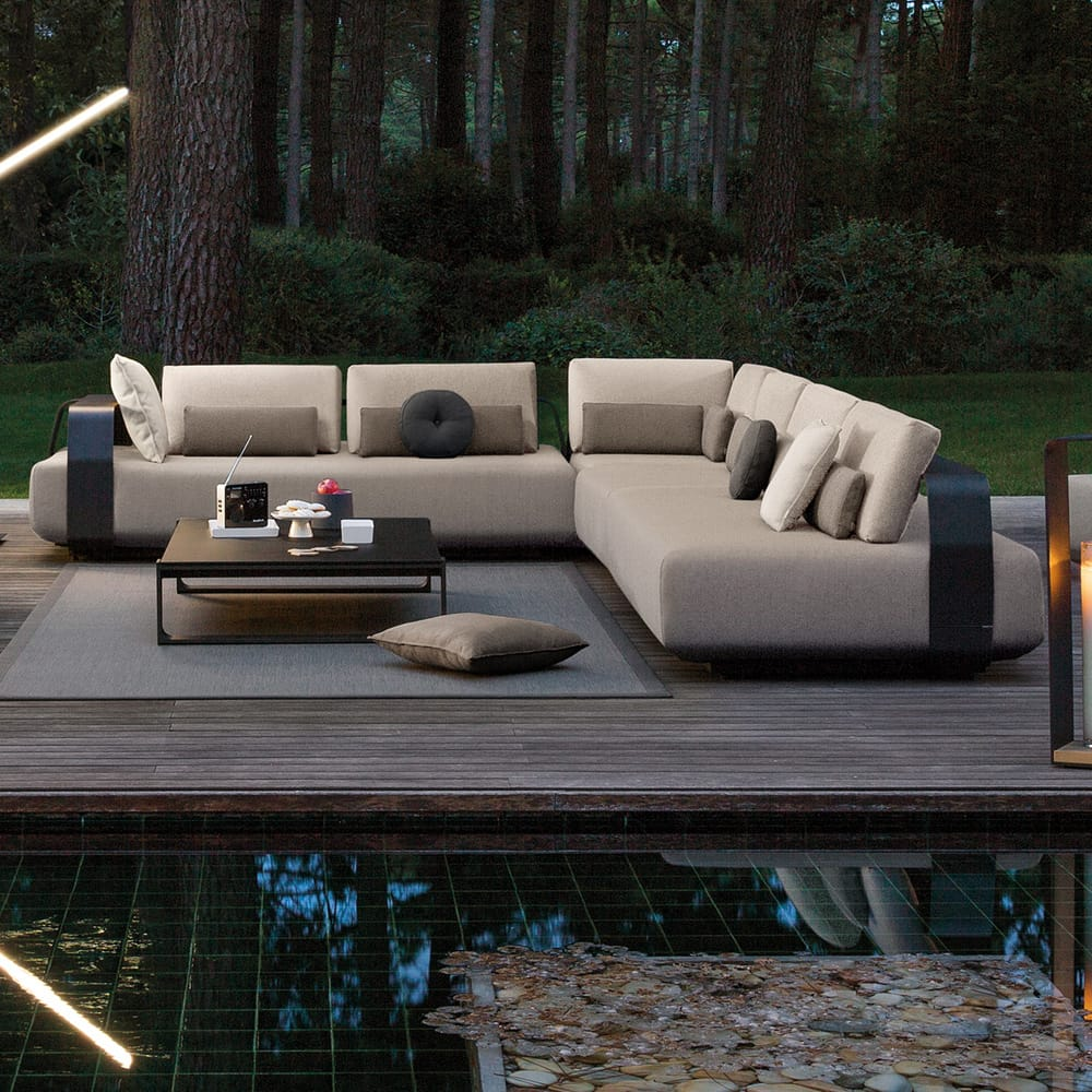 As seen in BIID newsletter, luxury outdoor furniture