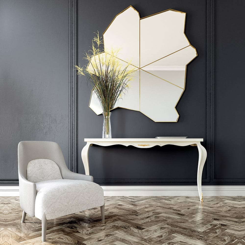 2018-Trends-Exclusive-Unique-Modern-Gold-Wall-Mirror