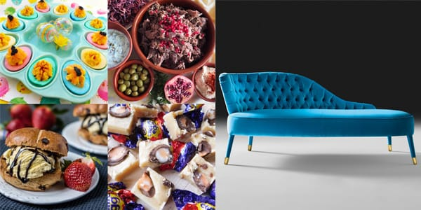 Foodie Quine chaise longue luxury lunch image