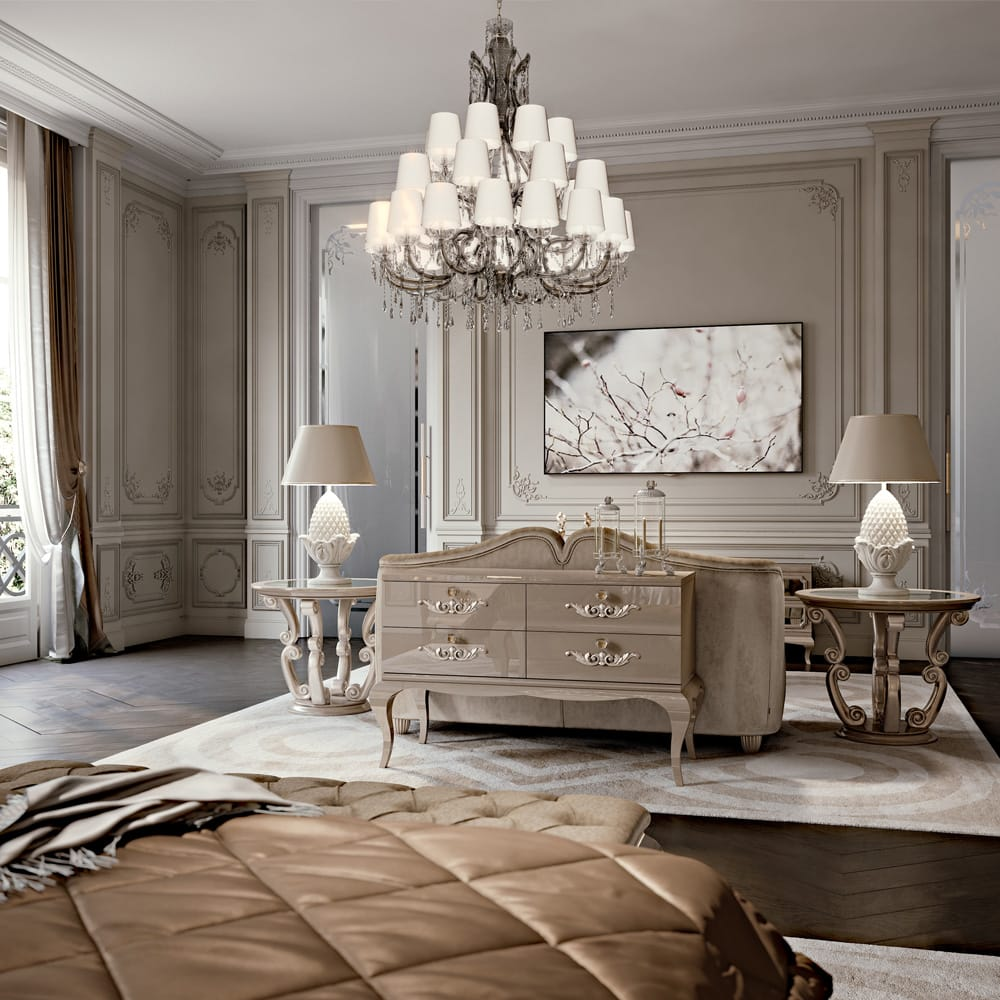 Furniture Sourcing and Re-creation Service, glamorous bedroom