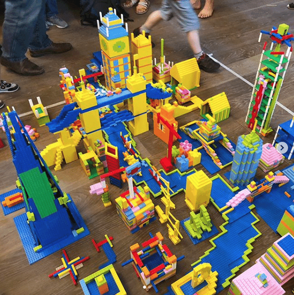 Lego Architectural Challenge Hawkins Brown Entry London Festival of Architecture