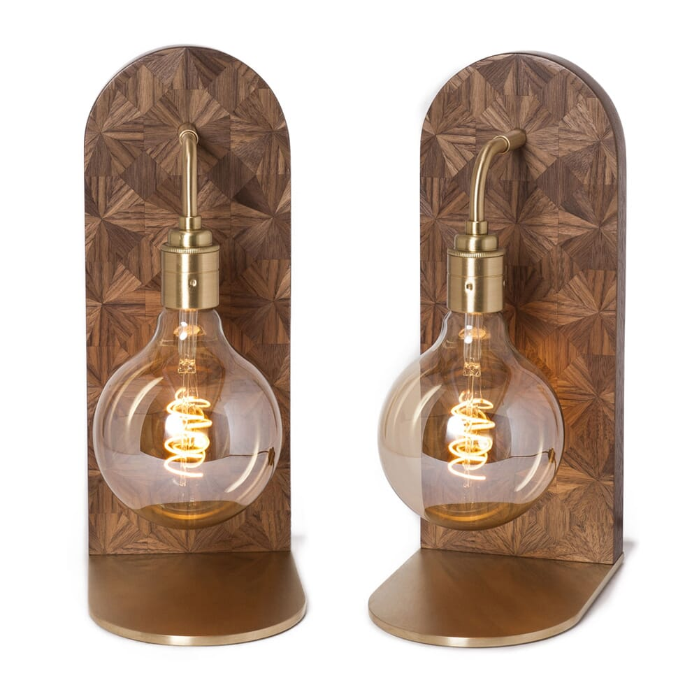 new arrivals, marquetry globe table lamp