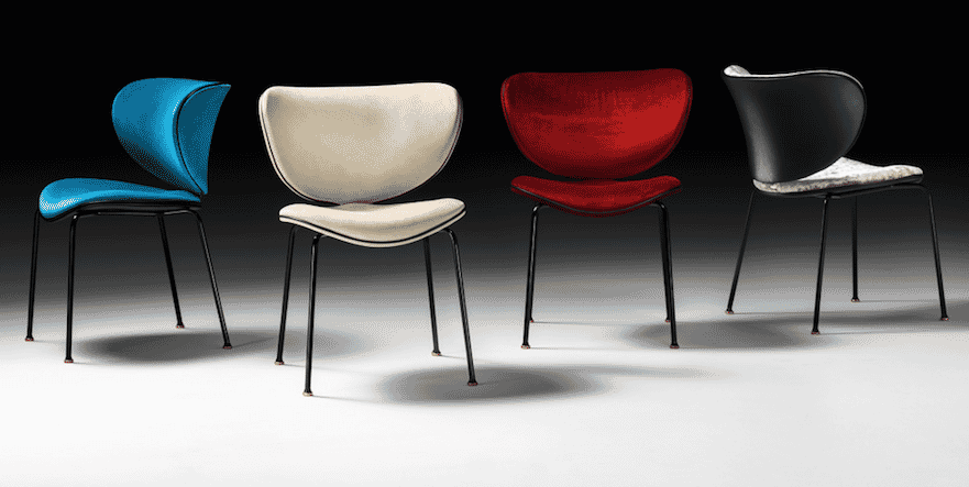 Impress the guests, retro style dining chairs, various colours and fabrics