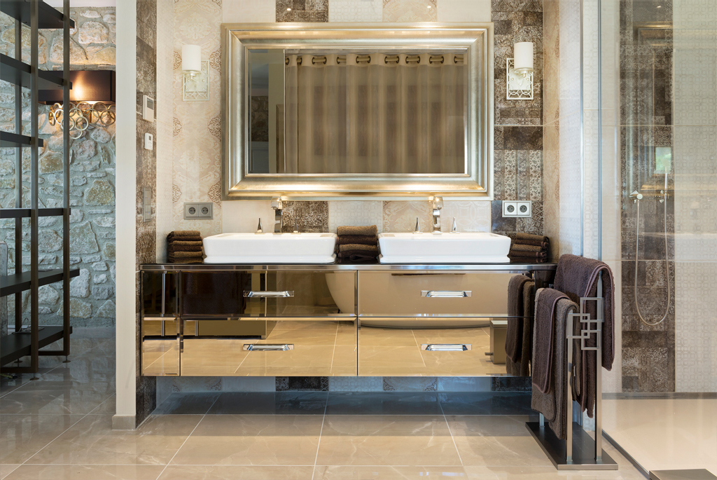 South of France interior design project bathroom meet the interior designers