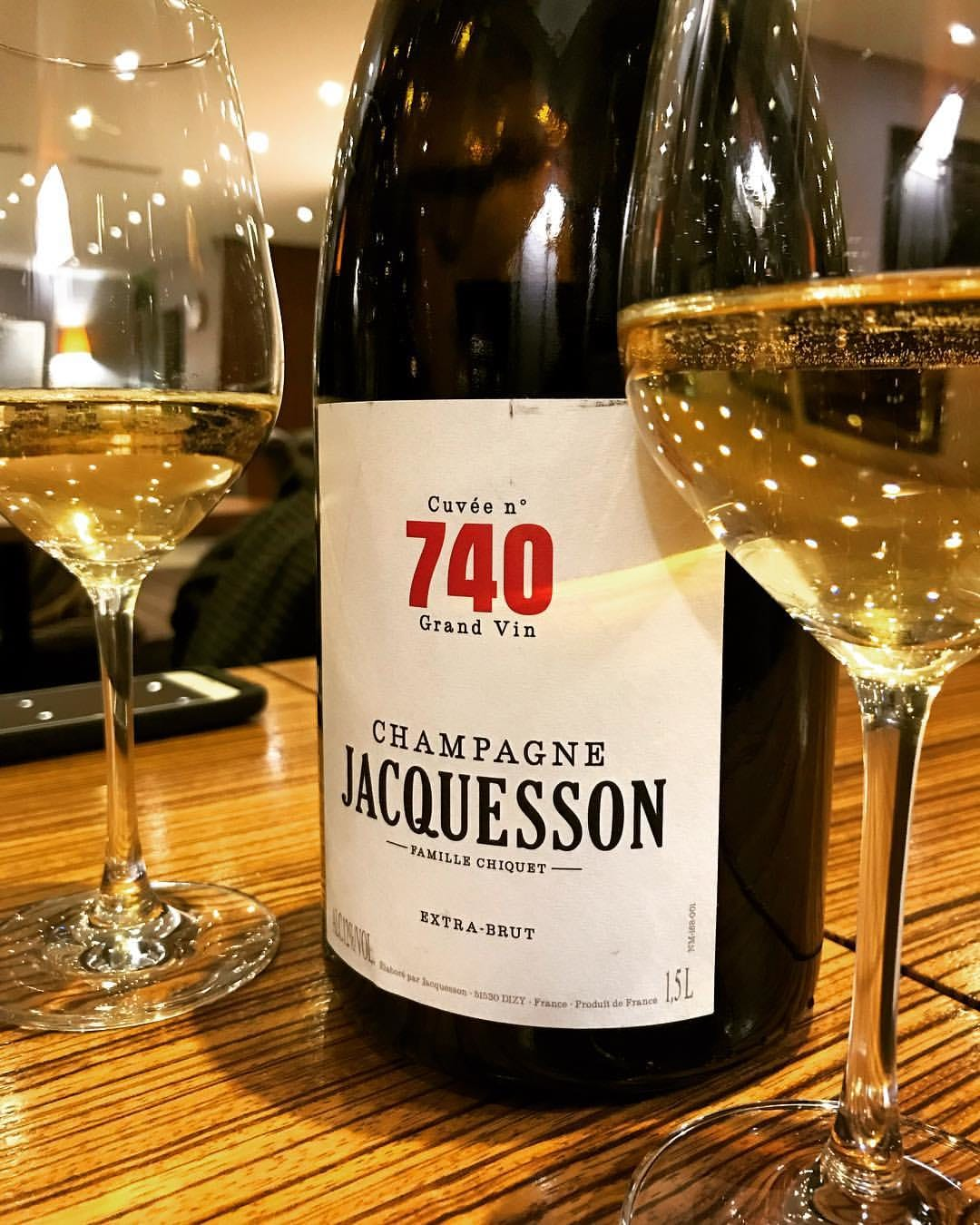 Jacquesson 740 champagne Mother's Day