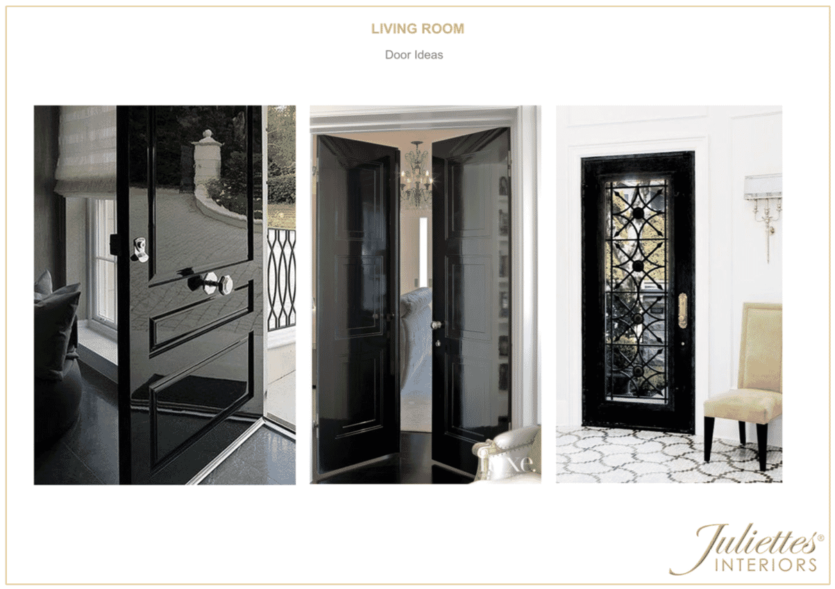 Living room door ideas meet the designers Miki
