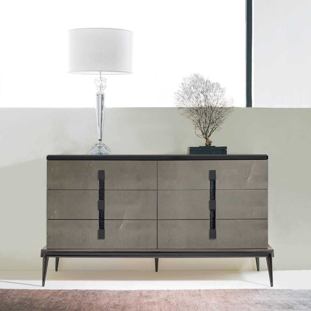 London Collection High Gloss Veneered Chest of Drawers Autumn Arrivals