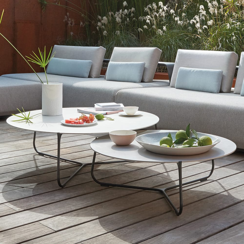 luxury garden furniture, outdoor coffee table set