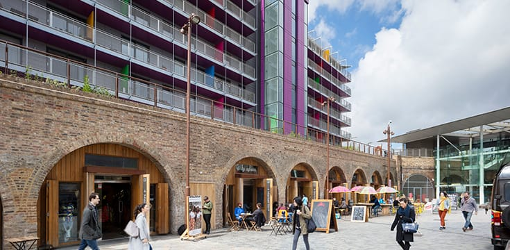 Deptford Market Yard London Festival of Architecture