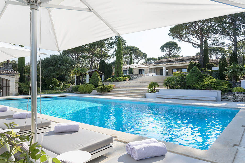 South of France interior design project garden and pool meet the interior designers