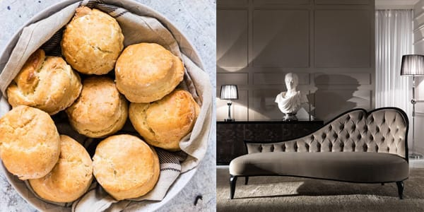 Recipes from a pantry chaise longue lunch scones image