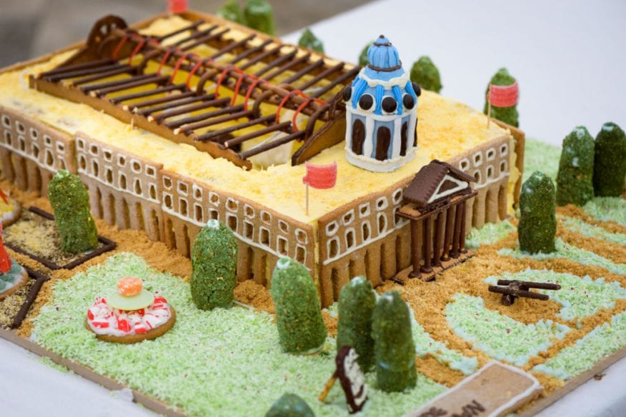 Stride Treglown Imperial War Museum cake London Festival of Architecture Round Up