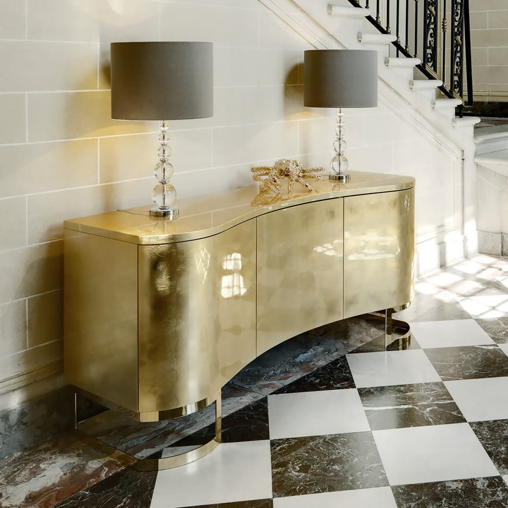 Stylish-Storage-Italian-High-End-Gold-Leaf-Buffet-Sideboard-1