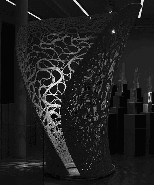 Thallus by Zaha Hadid Gallery London Festival of Architecture 2018
