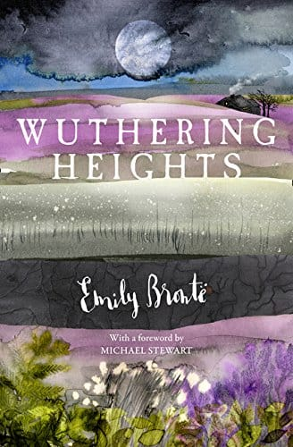 Wuthering Heights by Emily Bronte, front cover, new edition 2018, holiday reading