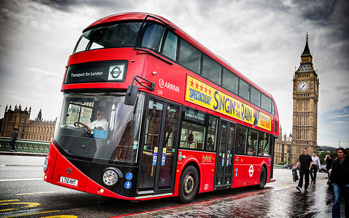 Be the Perfect Guest Transport London Bus