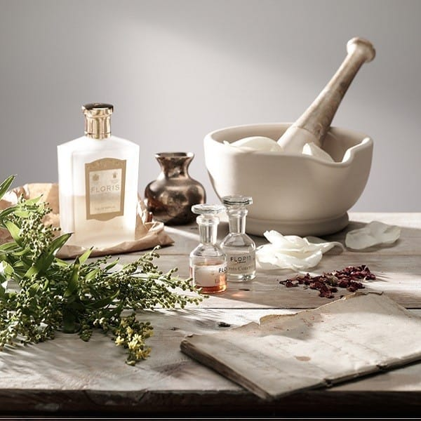 gift guide, ingredients for making perfume with pestle and mortar