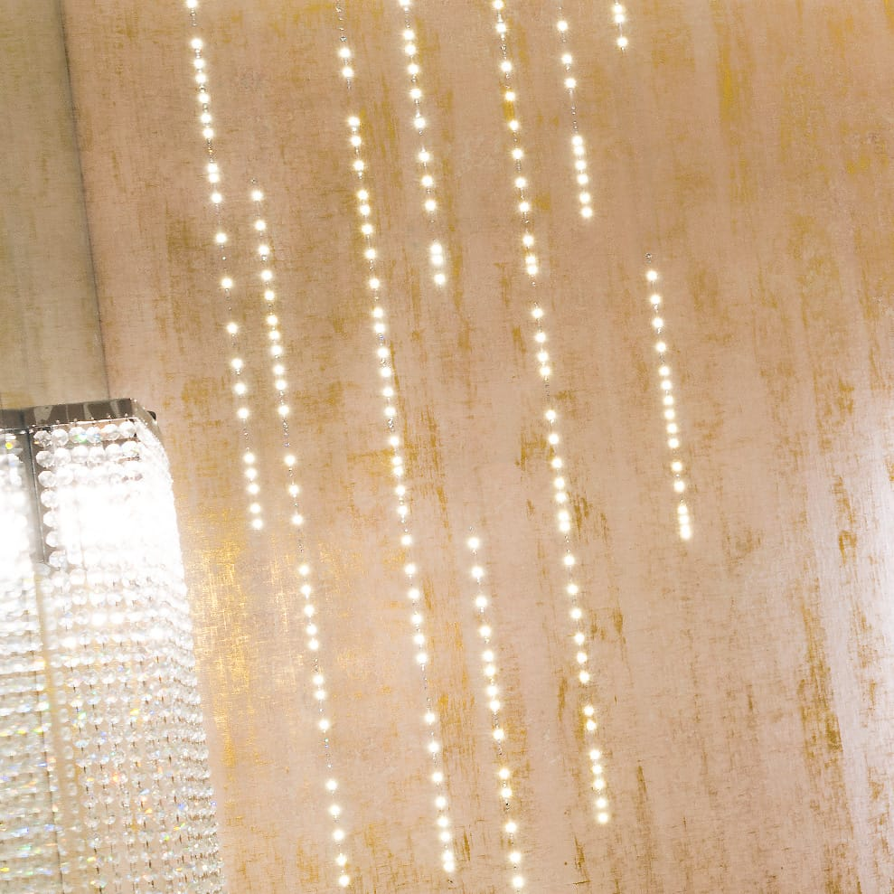 Exclusive Swarovski Crystal Feature Wallcovering