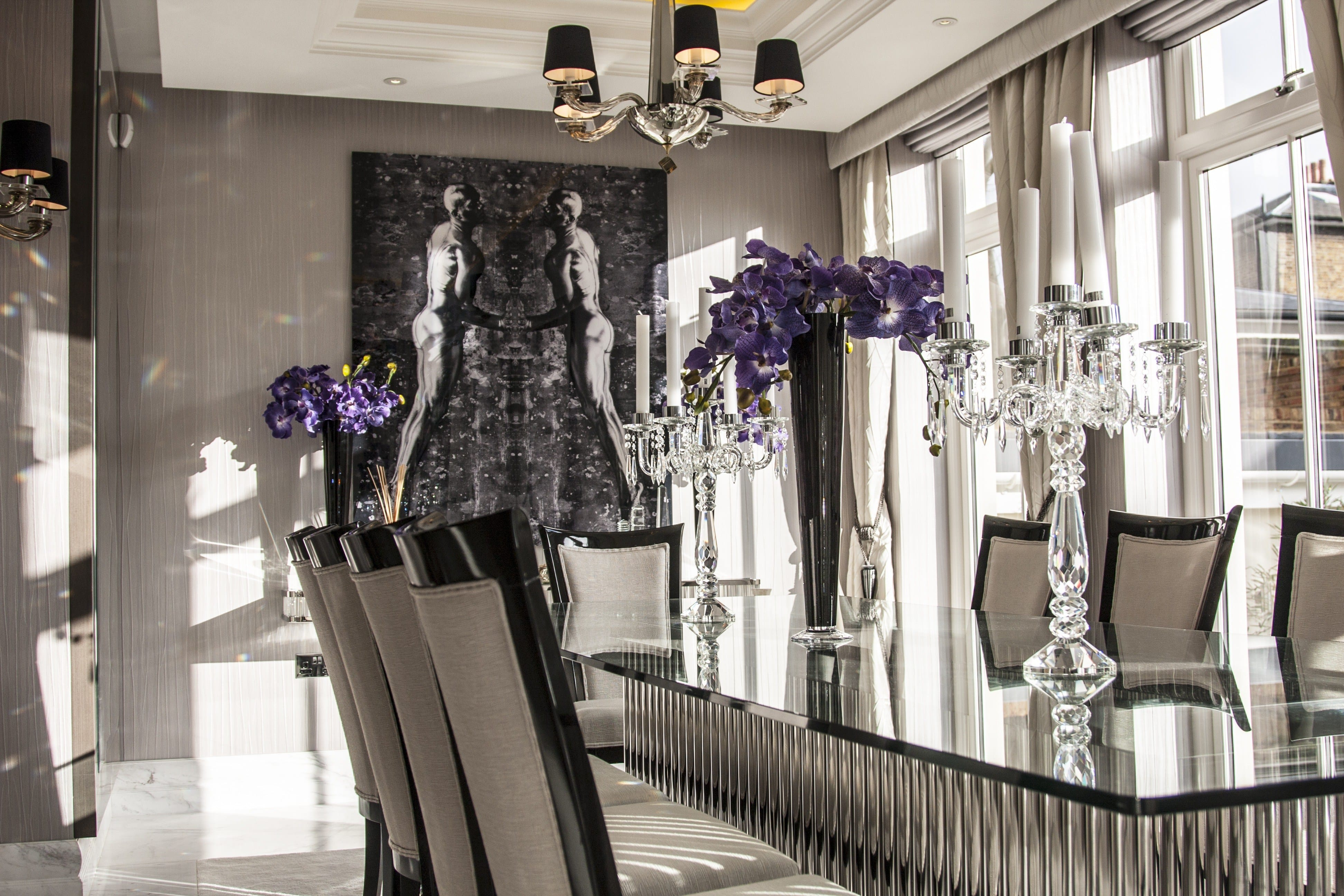 bespoke interior dining room by juliettes interiors
