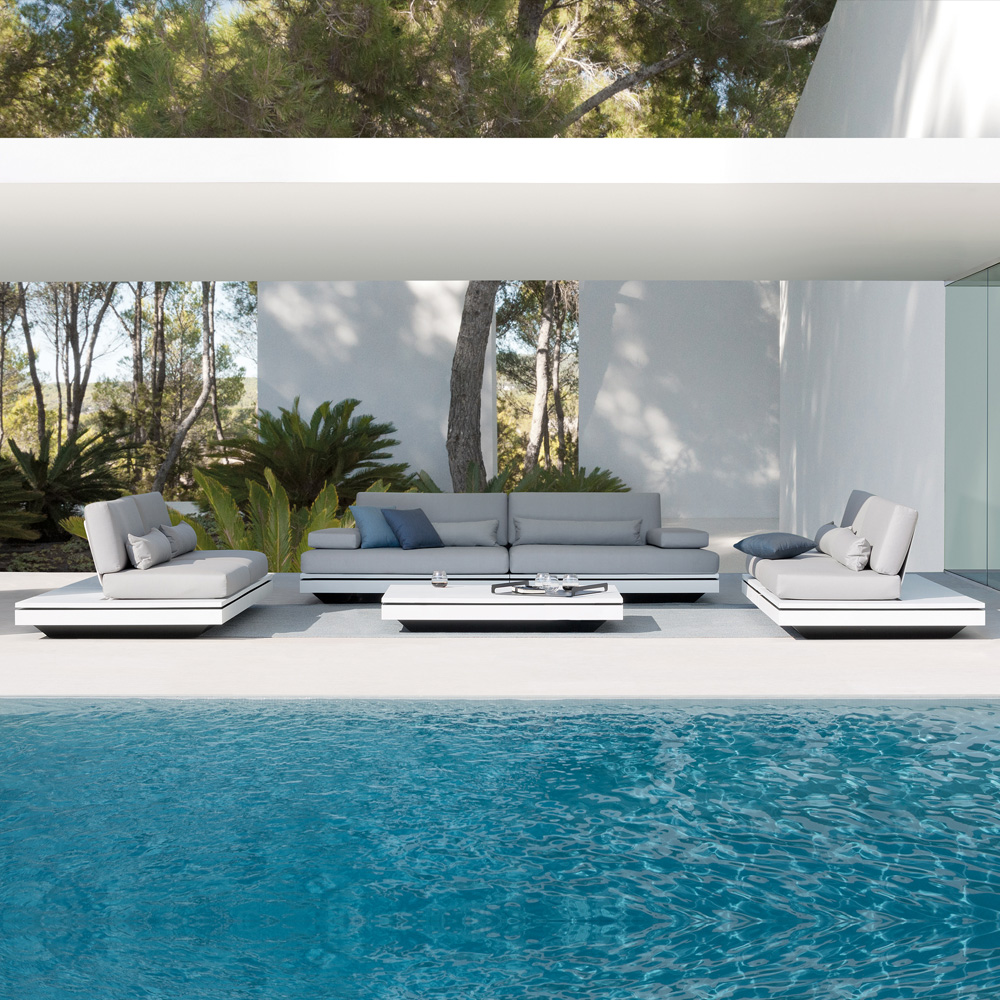 Modern Modular Designer Outdoor Garden Seating Set