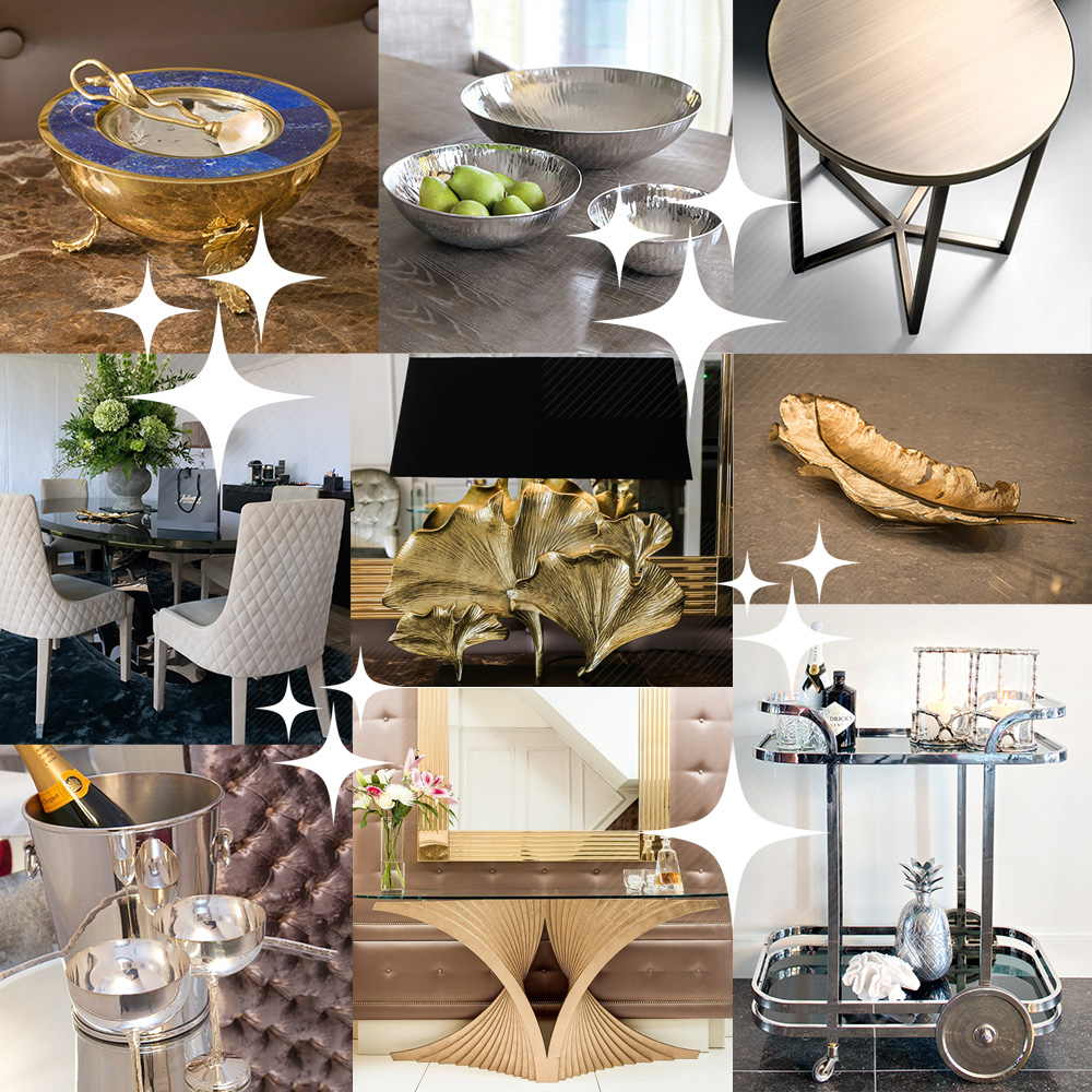 Christmas, finishing touches, montage of product images