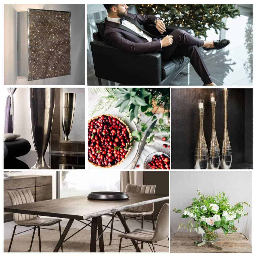 Christmas Dining, Becky Goddard Hill, A Beautiful Space moodboard