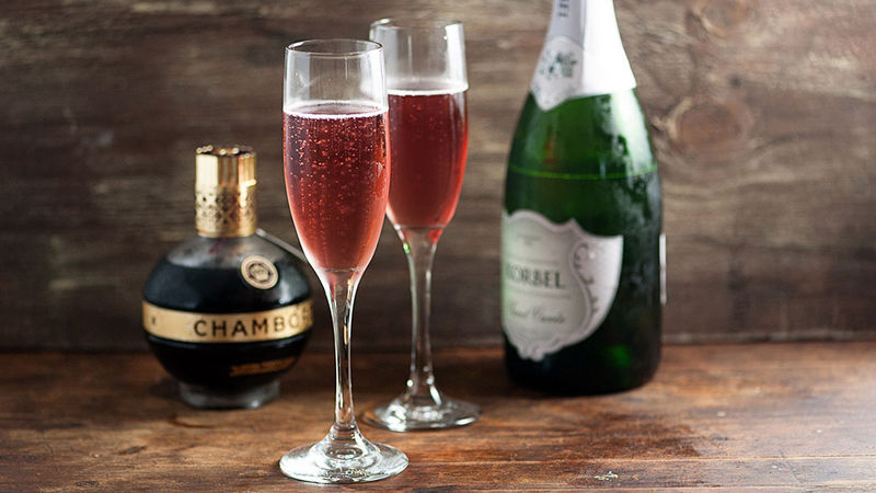 last minute gifts, kir royale cocktail