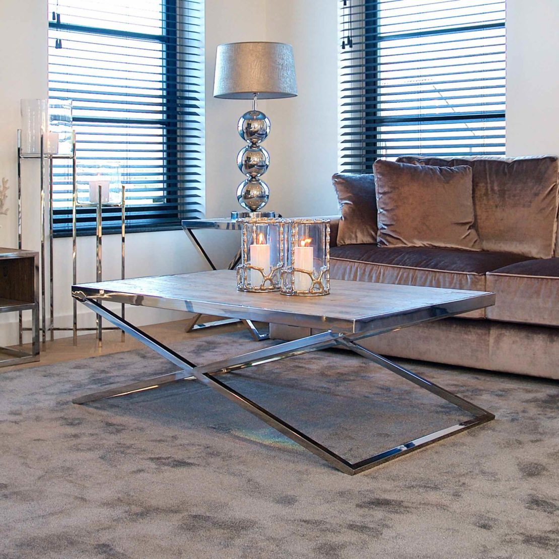 showhome furniture, Contemporary Recycled Wood Coffee Table