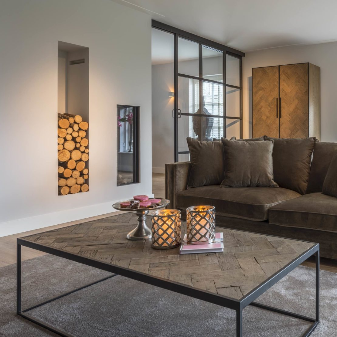 showhome furniture, Industrial Old Oak Coffee Table