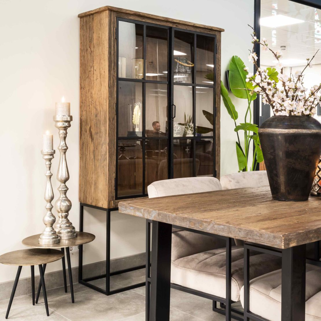 showhome furniture collection, Industrial Recycled Wood Cabinet
