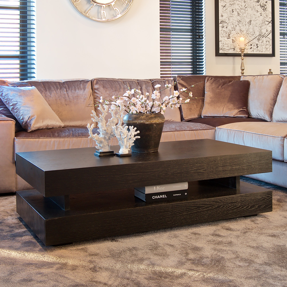 showhome, Modern Black Coffee Table