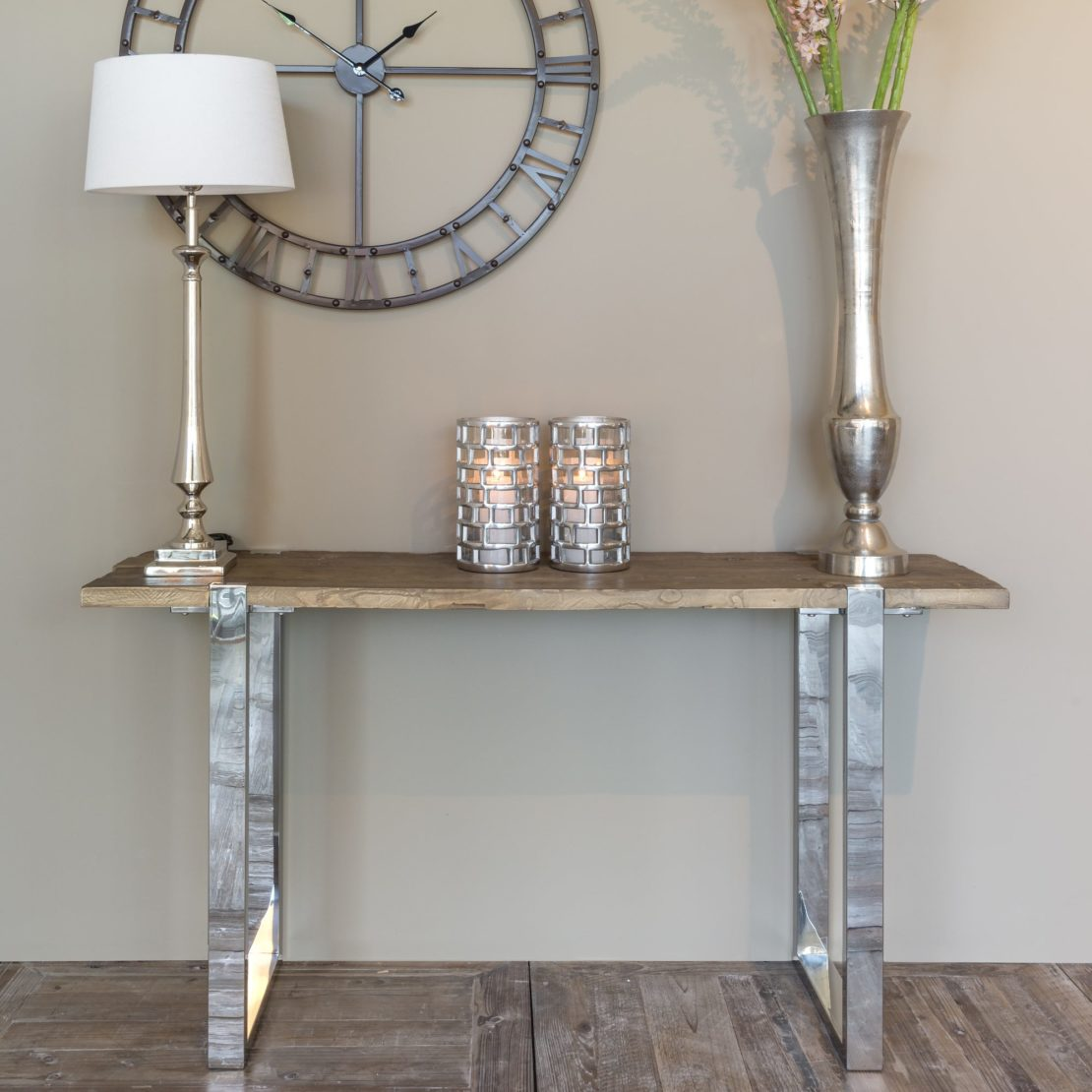 showhome furniture, Contemporary Recycled Console Table