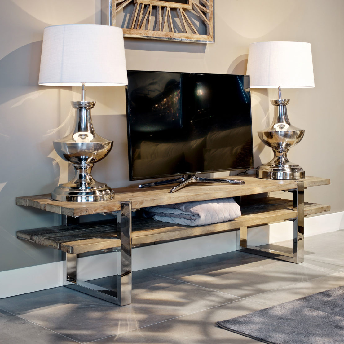 showhome furniture, Contemporary Recycled TV Unit
