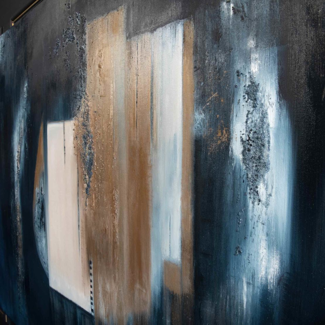 Original Abstract Painting By Local Artist