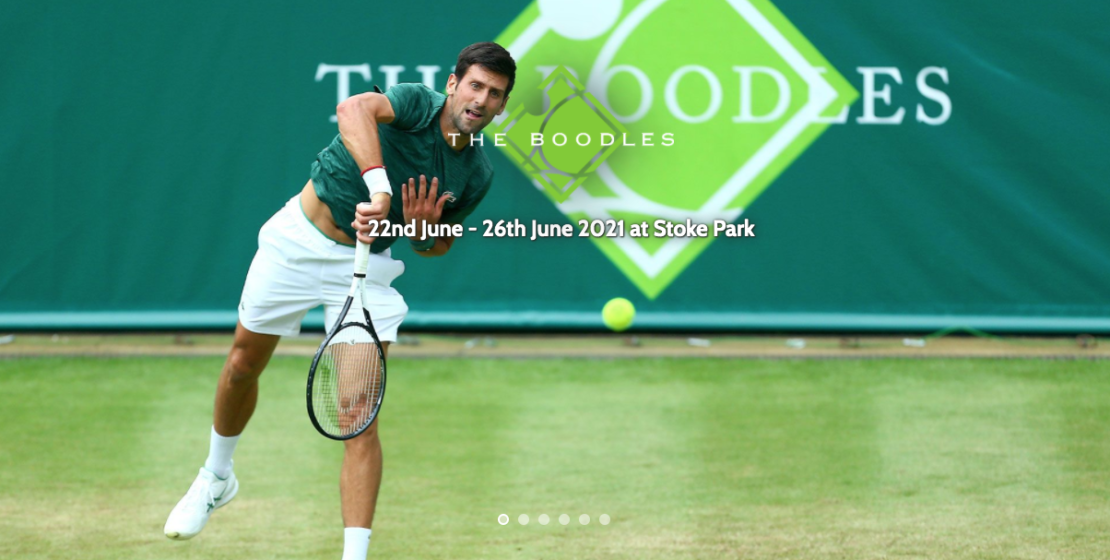 luxury events 2021, The Boodles Tennis
