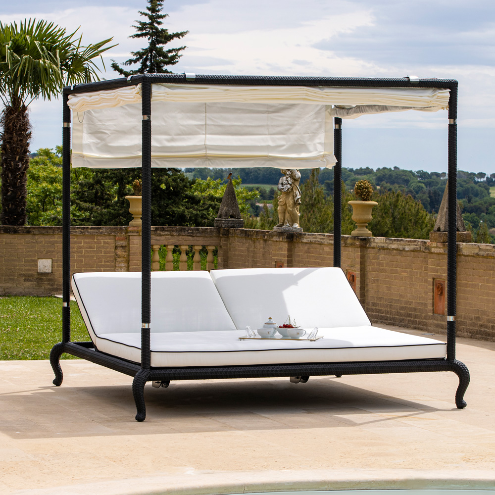 Four Poster Double Sun Lounger