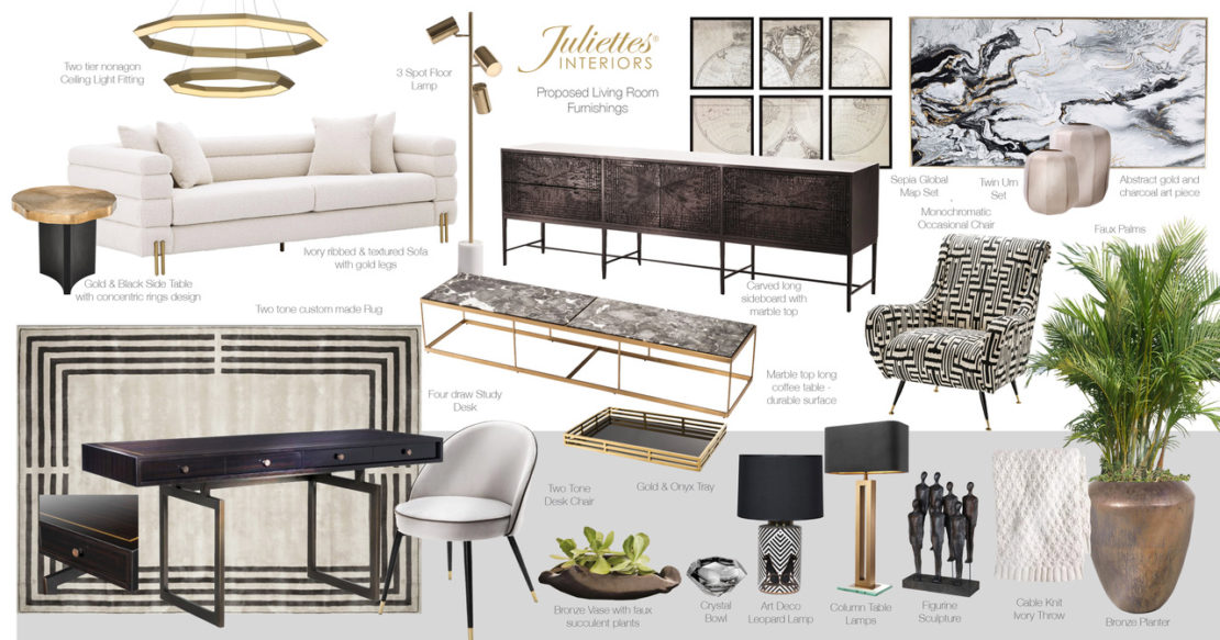 Juliettes Interiors visuals for Windsor town house