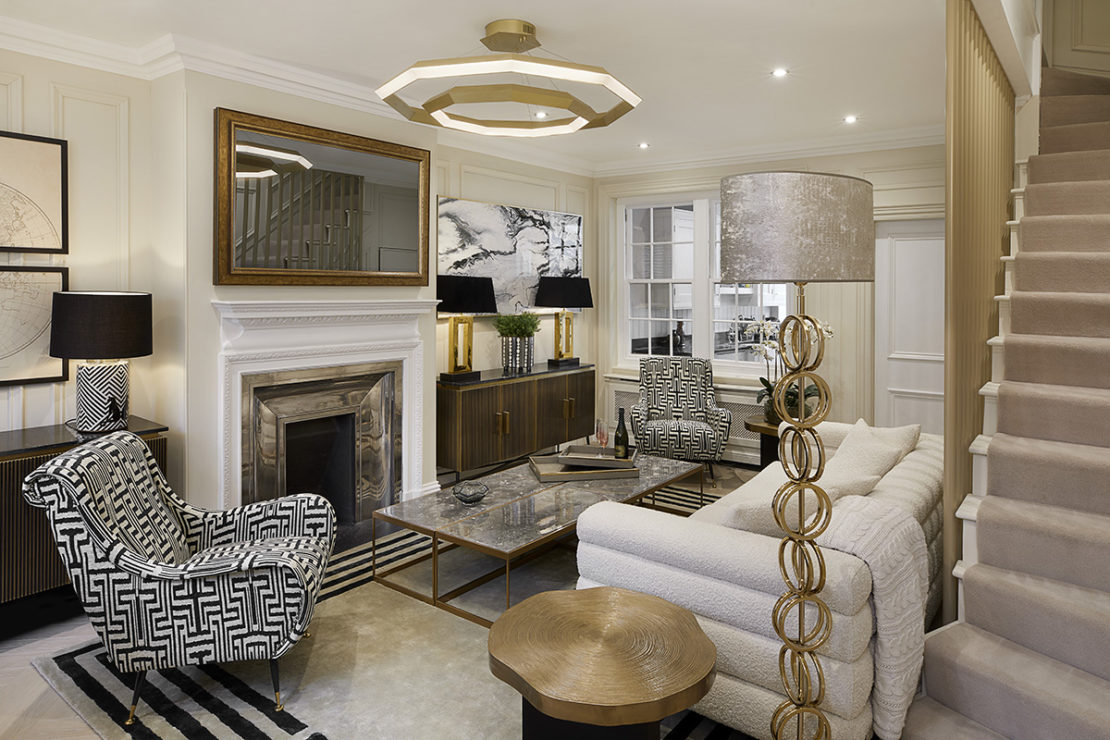 Get the Look, Windsor town house, Living room