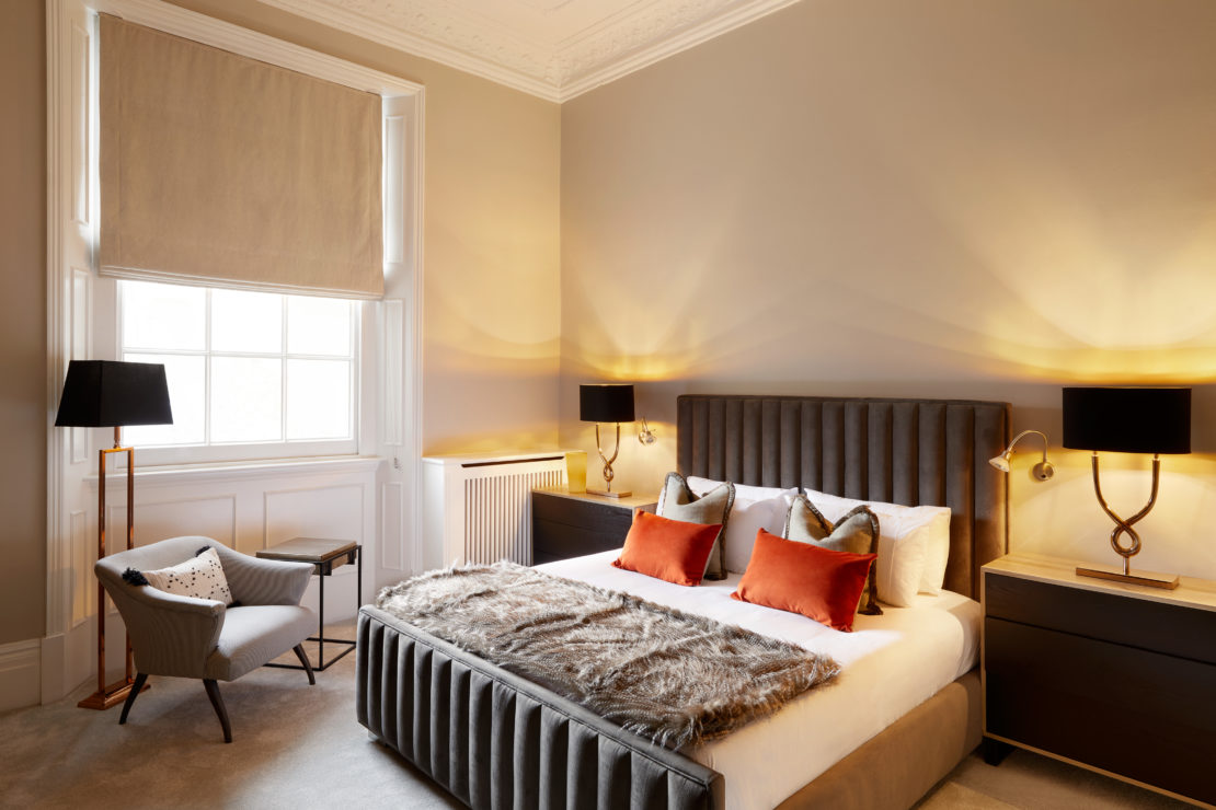 Add personality to your interiors, Onslow Gardens apartment, bedroom