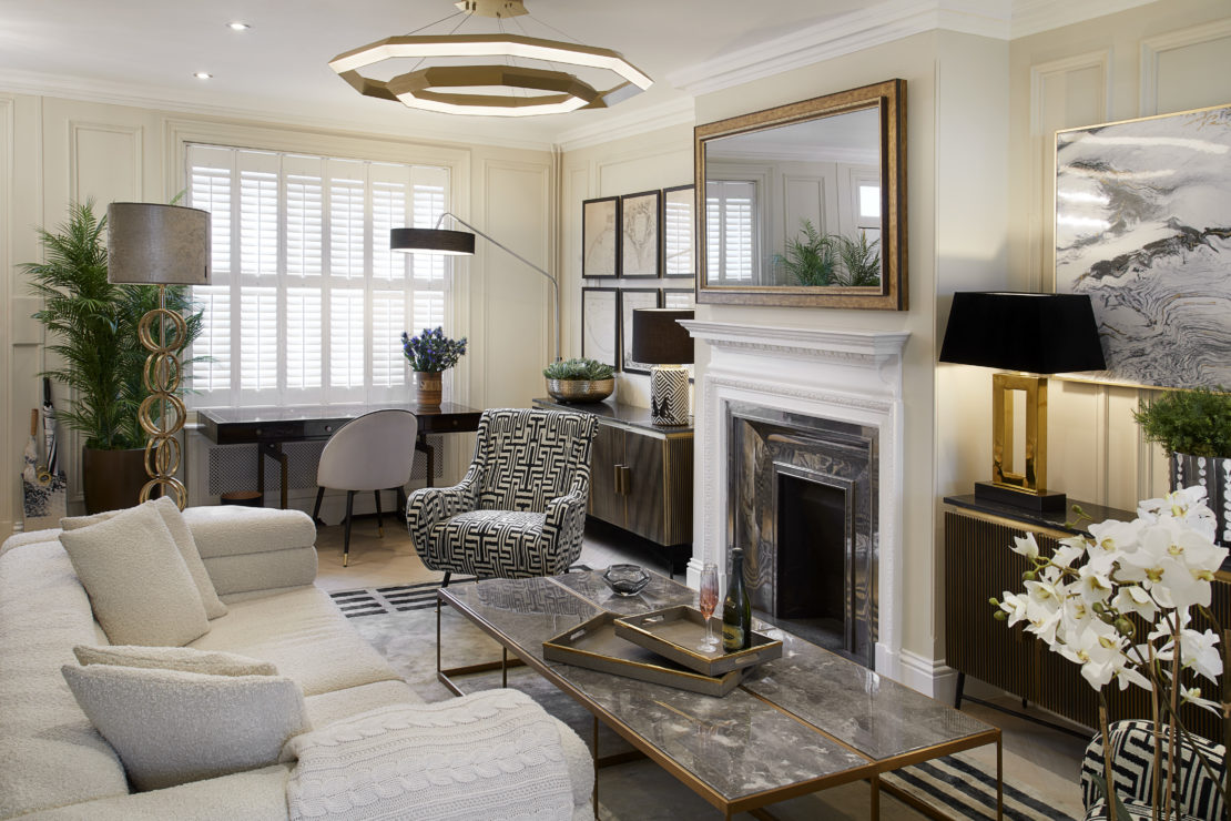 Add personality to your interiors, Windsor Town House, living room